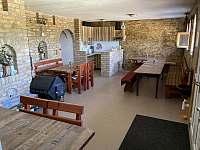 společenská místnost - ubytování Čejkovice