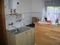 Chata Suchý - kuchyně