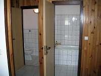 Chata Suchý - WC, koupelna