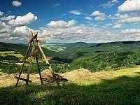 Okolí chalupy: CHKO Bílé Karpaty