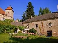 Ubytování RC Palánek je v těsné blízkosti zámku