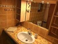 Koupelna - chalupa k pronájmu Přítluky