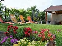 Zahrada - apartmán ubytování Bavory
