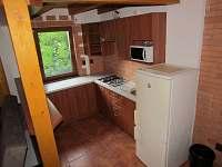 Kuchyně - chata k pronajmutí Tvarožná Lhota - Lučina