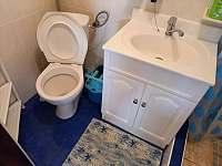 toaleta - chata k pronajmutí Jedovnice