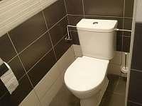 WC - pronájem chalupy Jazovice