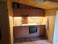 Kuchyně, jídelna - pronájem chaty Senorady