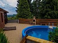 Bazén - rekreační dům ubytování Klobouky u Brna