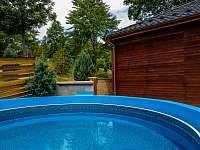 Bazén 2 - rekreační dům k pronájmu Klobouky u Brna