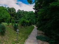 Chodníček k domu - pronájem rekreačního domu Klobouky u Brna