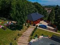Hlavní pohled 2 - rekreační dům ubytování Klobouky u Brna