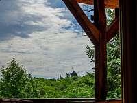 Pohled z terasy - Klobouky u Brna
