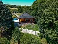 Východní strana - rekreační dům ubytování Klobouky u Brna