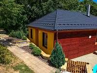Západní strana - rekreační dům k pronájmu Klobouky u Brna
