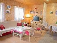 Obývák - chata k pronájmu Jedovnice