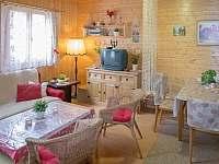 Obývák - chata ubytování Jedovnice