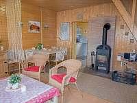 Obývák - pronájem chaty Jedovnice