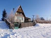 Chata Bella v zimě - Jedovnice