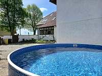 Bazén o průměru 3,6m. Hloubka 1,2m - Dešov