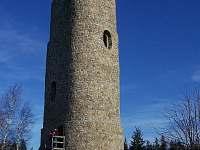 kamenná rozhledna Brdo - Roštín