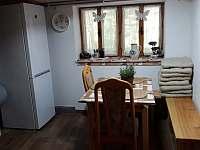 Kuchyň - chata k pronajmutí Jazovice