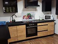 Kuchyň - pronájem chaty Jazovice