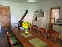 kuchyň - chalupa ubytování Nové Mlýny
