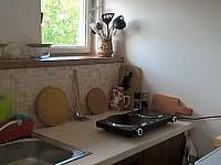 část kuchyně