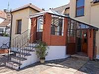 Pension Čížek Mikulov - veranda apartmánu 2