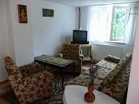 Apartmán přízemí - obývací pokoj