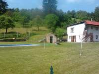 Chata k pronajmutí - dovolená Bazén Bystřice nad Perštejnem rekreace Doubravník