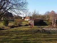 Dětské hřiště u penzionu - ubytování Rokytnice - Kochavec