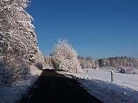 Oklí Penzionu v zimě - Rokytnice - Kochavec