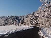 Okolí Penzionu v zimě - Rokytnice - Kochavec