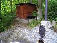 dřevník - chata k pronajmutí Oslnovice