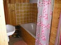 koupelna - chata k pronajmutí Oslnovice