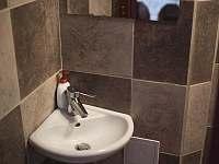 toaleta 1 - pronájem chalupy Prušánky - Nechory