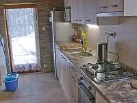 Kuchyň v prvním podlaží - po kompletní rekonstrukci