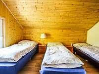 Ložnice I v patře v chatě Babeta - Jevišovice