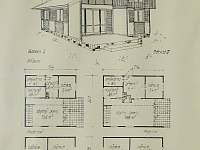 Plán chaty BABETA 3 v Jevišovicích - k pronájmu