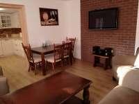 obývací pokoj - chalupa ubytování Čejkovice
