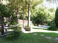 zahrada - chalupa k pronajmutí Koryčany - Lískovec