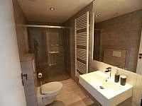 Koupelna k 1.apartmánu - chalupa k pronájmu Vrbice