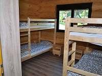 Pokoj se dvěma patrovými postelami