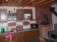 kuchyně - chata ubytování Nechory
