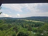 Ložnice III - výhled z okna