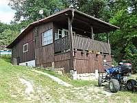 Chata k pronajmutí - dovolená  Napajedla - Pahrbek mrtvé rameno Moravy rekreace Roštín