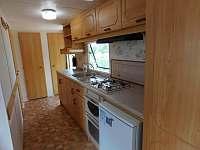 Kuchyně - chata ubytování Dolní Věstonice