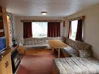Obývací pokoj - pronájem chaty Dolní Věstonice