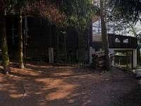 První pohled na chatu